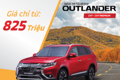 Outlander 7 Chỗ Mitsubishi